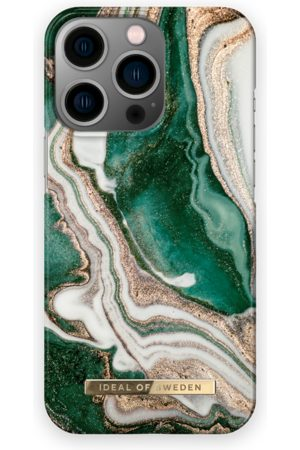 IDEAL OF SWEDEN Fashion Case iPhone 13Pro Golden Jade Marble