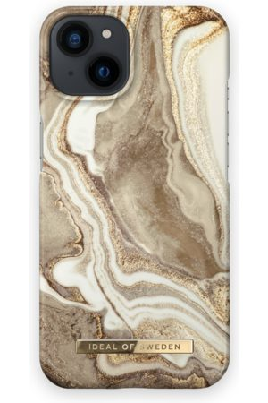 IDEAL OF SWEDEN Telefoon - Fashion Case iPhone 13 Golden Sand Marble