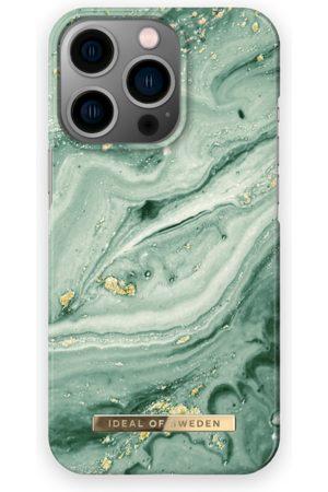 IDEAL OF SWEDEN Telefoon - Fashion Case iPhone 13 Pro Mint Swirl Marble