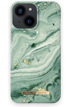 IDEAL OF SWEDEN Fashion Case iPhone 13 Mini Mint Swirl Marble