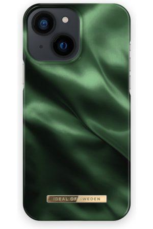 IDEAL OF SWEDEN Telefoon - Fashion Case iPhone 13 Mini Emerald Satin