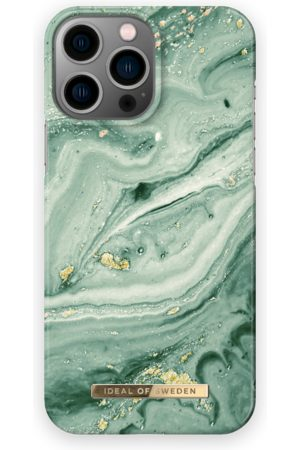 IDEAL OF SWEDEN Telefoon - Fashion Case iPhone 13 Pro Max Mint Swirl Marble