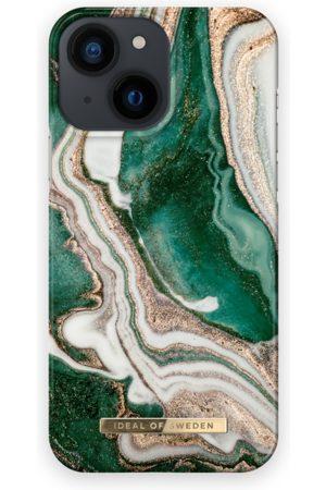 IDEAL OF SWEDEN Telefoon - Fashion Case iPhone 13 Mini Golden Jade Marble