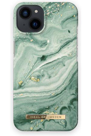 IDEAL OF SWEDEN Telefoon - Fashion Case iPhone 13 Mint Swirl Marble