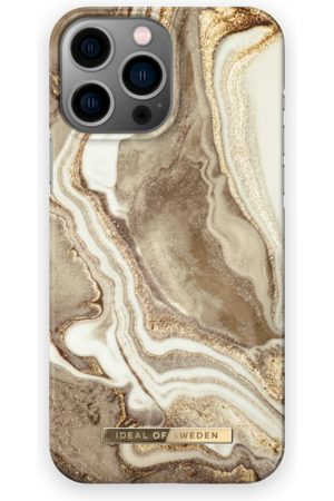 IDEAL OF SWEDEN Telefoon - Fashion Case iPhone 13 Pro Max Golden Sand Marble