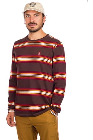 Coal Heren Lange mouw - Travertine Long Sleeve T-Shirt