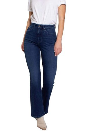 Kuyichi Dames Slim - Jeans Blauw 202175