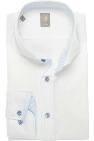 Jacques Britt Heren Lange mouwen - Slim Fit Overhemd , Faux-uni