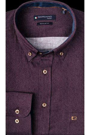 Giordano Heren Lange mouwen - Ivy Regular Fit Overhemd , Effen