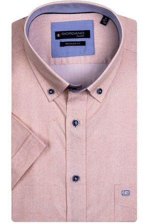 Giordano Heren Lange mouwen - Regular Fit Overhemd , Motief