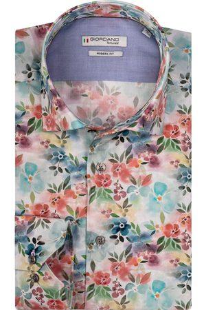 Giordano Maggiore Modern Fit Overhemd , Motief