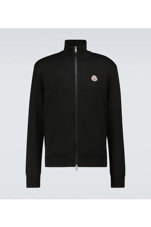 Moncler Zipped cotton sweatshirt