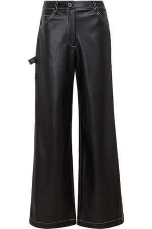 Staud Domino faux leather pants