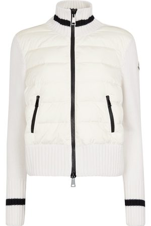 Moncler Down and wool cardigan