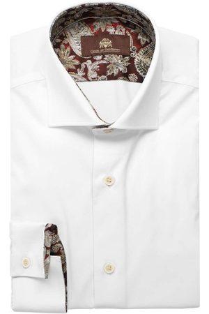 Circle of Gentlemen Heren Lange mouwen - Engelbert Slim Fit Overhemd , Effen