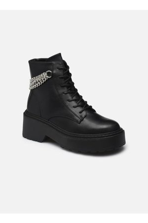 ONLY Dames Veterlaarzen - ONLBOSSI-1 PU CHAIN LACE UP BOOT by