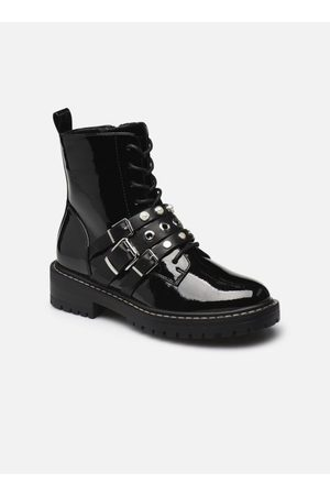 ONLY Dames Veterlaarzen - ONLBOLD-13 PATENT LACE UP BOOT by