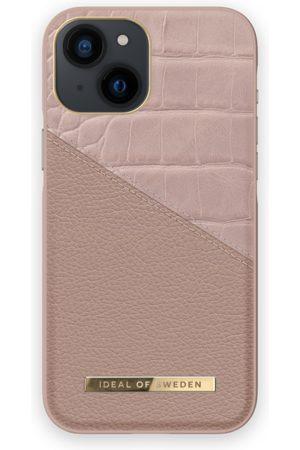 IDEAL OF SWEDEN Atelier Case iPhone 13 Mini Rose Smoke Croco