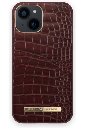 IDEAL OF SWEDEN Atelier Case iPhone 13 Mini Scarlet Croco