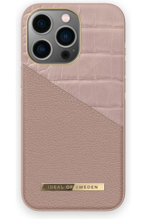 IDEAL OF SWEDEN Atelier Case iPhone 13 Pro Rose Smoke Croco