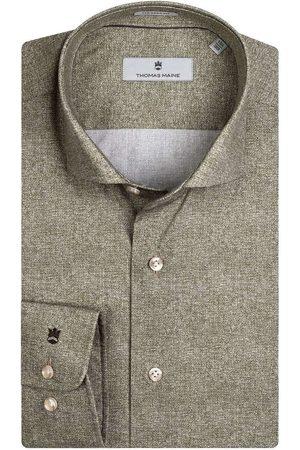 Thomas Maine Tailored Fit Overhemd , Motief