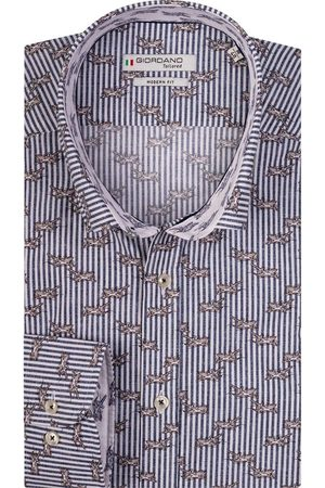 Giordano Torrino Modern Fit Overhemd , Motief