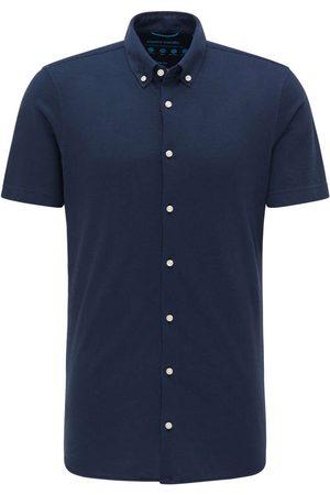 Pierre Cardin Slim Fit Overhemd marine, Effen