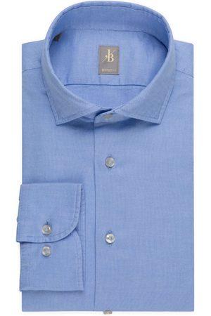 Jacques Britt Heren Lange mouwen - Perfect Fit Overhemd , Effen