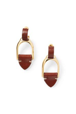 Ralph Lauren Dames Oorbellen - Welington Hoop Drop Earrings
