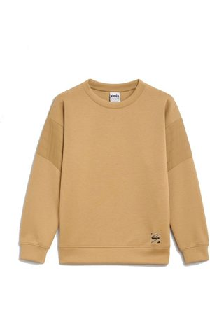 Diadora Dames Shirts - Sweatshirt Crew Urbanity Beige