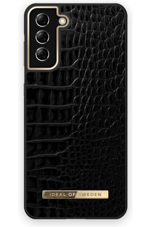 IDEAL OF SWEDEN Telefoon - Atelier Case Galaxy S21 Plus Neo Noir Croco