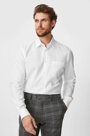 C&A Heren Zakelijk - Business-overhemd-regular fit-kent-extra lange mouw