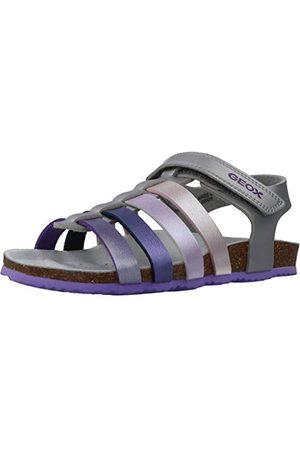Geox J821CC000NF, open sandalen met sleehak Meisjes 27 EU