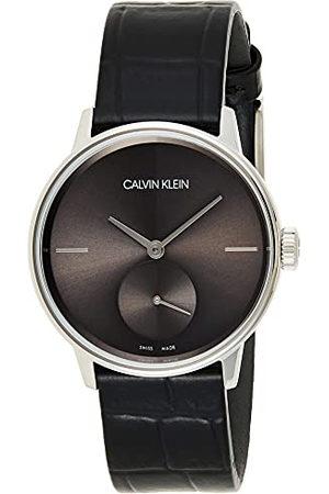 Calvin Klein Dameshorloge XS accent analoog kwarts leer K2Y231C3
