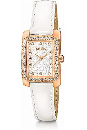 Folli Follie Analoog digitaal horloge voor dames, automatisch, met roestvrijstalen armband S0356933