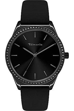 Tamaris Dames analoog kwartshorloge met leren armband TT-0035-LQ