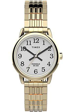 Timex Dameshorloge, analoog, kwarts, met roestvrijstalen armband, TW2V06000