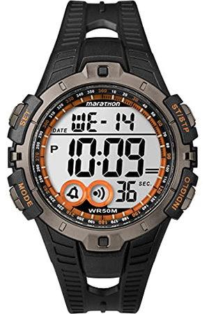 Timex Heren Horloge Digitaal Quartz Plastic, , Riemen.