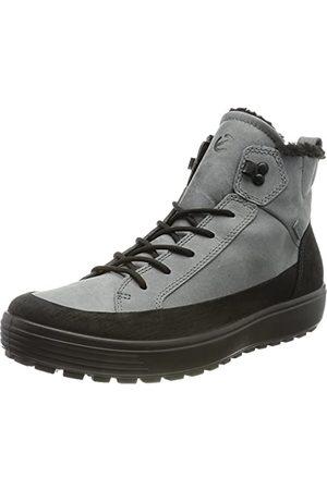 ECCO Heren Soft 7 Tred Fashion Boot, Black titanium, 42 EU