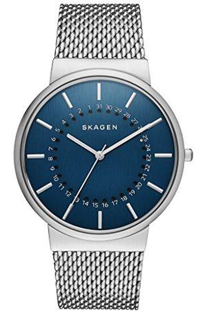 Skagen Heren analoog kwarts horloge met roestvrij stalen armband SKW6234