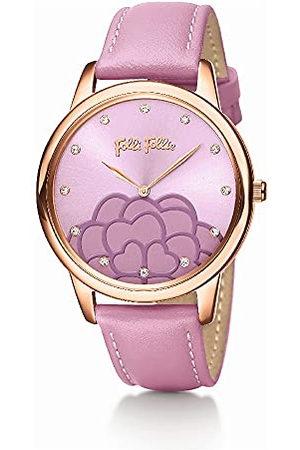 Folli Follie Analoog digitaal horloge voor dames, automatisch, met roestvrijstalen armband S0356994