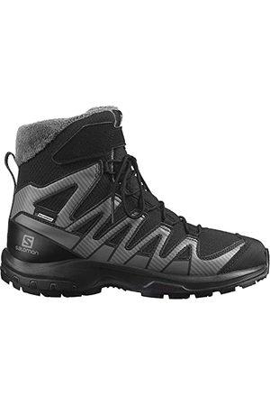 Salomon XA Pro V8 Winter Clima Waterproof (waterdicht) Kinder Trailrunning-Schoen, (Black/Phantom/Quiet Shade), 40 EU