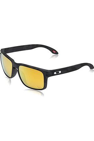 Oakley Heren Oo9102 Holbrook gepolariseerde vierkante zonnebril, Mehrfarbig, 0
