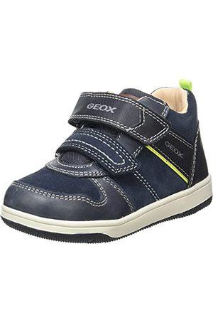 Geox Baby jongens B New Flick Boy A sneakers, Navy Fluo , 21 EU