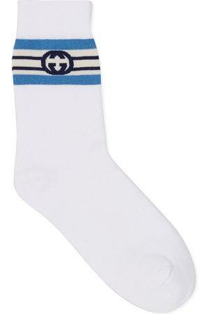 Gucci Interlocking G stripe cotton socks