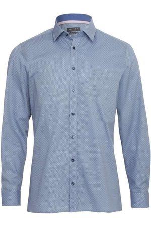 Jupiter Heren Lange mouwen - Modern Fit Overhemd , Motief