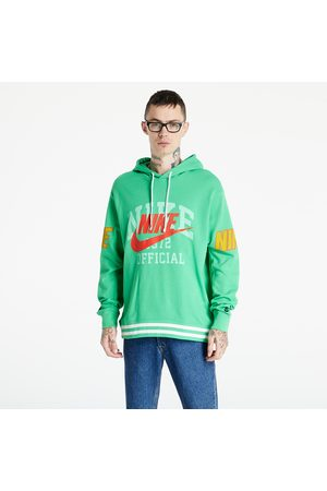 Nike Heren Sweaters - Sportswear M French Terry Pullover Hoodie Lt Green Spark