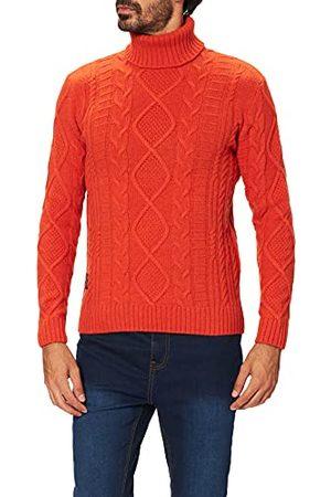 Blauer Gebreide trui voor heren.