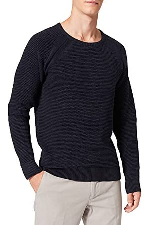 Casual Friday Kristian Bubble Crew Neck Knit Pullover voor heren