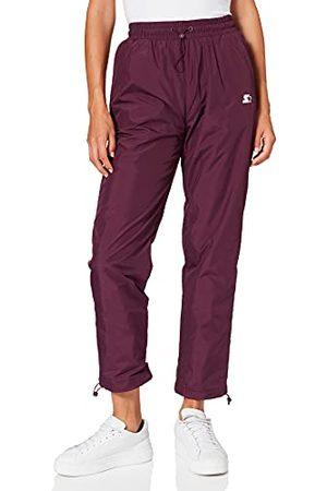 STARTER BLACK LABEL Dames Dames Starter Track Pants Broek, Dark Violet, M